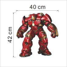 children room Movie The Avengers Removable Vinyl Wall Sticker Decals for Kids rooms Nursery Room decor AUM001