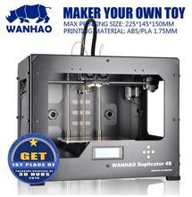 Wanhao Duplicarot 4S (Wanhao D4S) 3d принтер с двойным экструдером | Возможна поставка со склада в России (спрашивайте продавца). Возможно безналичный расчет для организаций.
