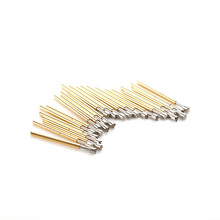 100pcs/Lot Spring Contact Probes Dia 1.02mm Length 16mm Conical Head Spring Test Probe Pin Set for PCB Testing Measurment P75-H2