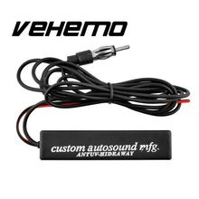 Vehemo Stereo Radio AM FM Amplified Antenna Universal For Car Truck Vehicle Free shipping
