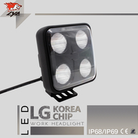 LYC 1Pcs Led Tractor Work Lighting High Power Led Lights Car Good Square Off Road Lights
