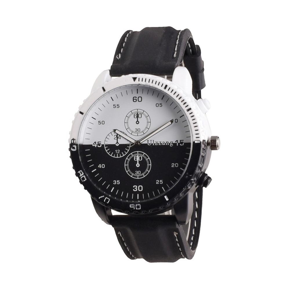 14bcc3c22cc5 Hot 2017 de moda de lujo Relojes de hombre personalidad creativa movimiento  dial grande reloj marea hombres Relojes de hombre en Relojes de cuarzo de  ...