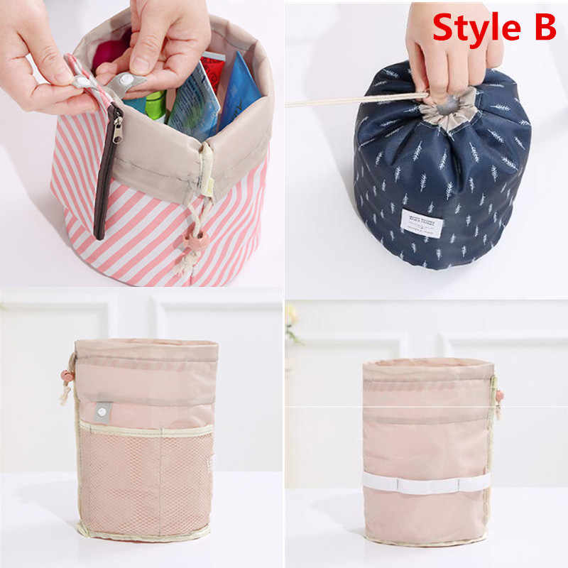 21302e62fae5 Women Travel Magic Pouch Drawstring Cosmetic Bag Organizer Lazy Flamingo  Make up Cases Beauty Toiletry Kit Tools Wash Storage