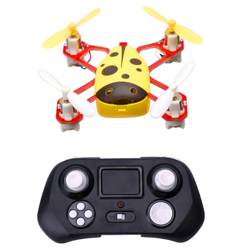 Cheer X1 Populyar Mini Uçan Uçan Ladybird RC Quadcopter 2.4G 4CH - Uzaqdan idarə olunan oyuncaqlar - Fotoqrafiya 3