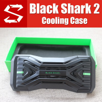 BR08 Original Black Shark 2 Case liquid Fan Cooling Case Cover With Gamepad 2.0 H66L H66RS