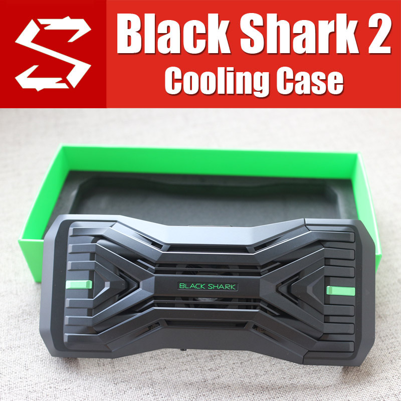 BR08 Original noir requin 2 boîtier liquide ventilateur boîtier de refroidissement avec manette 2.0 H66L H66RS