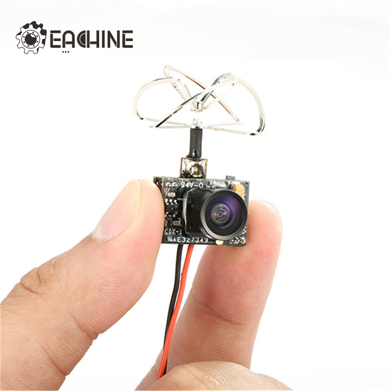 Eachine TX01 Super Mini AIO 5.8G 40CH 25 MW VTX 600TVL 1/4 Cmos FPV Caméra Seulement 4.48g
