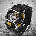 Marca de topo homens sanda novo design relógios de pulso eletrônico digital relógio led relógio à prova d' água à prova de choque choque atlético esporte saat