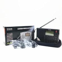 Tecsun PL 380 PL380 radio cyfrowy PLL przenośne radio FM stereo/LW/SW/MW DSP odbiornik ładne