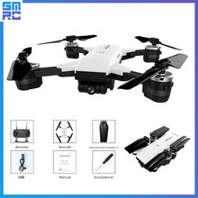 SMRC S20 Mini Quadrocopter Pocket Drones with Camera HD small WiFi mine RC Plane Quadcopter race helicopter fpv racing Dron 4K(China)