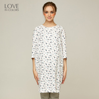 Loveincolors Pregnant Women T Shirt Breastfeeding Cotton Soft Floral Long Loose Comfortable Nursing Maternity Clothes
