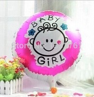 Baby girl balloon 1st birthday Toy For Birthday Party Inflatable Ballons 100pcs Foil Baloons