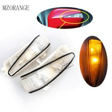 MZORANGE Rearview Mirror light For Honda Civic FA1 2006 2007 2008 2009 2010 2011 2pcs Left&Right  LED Turn Signal Flasher Light