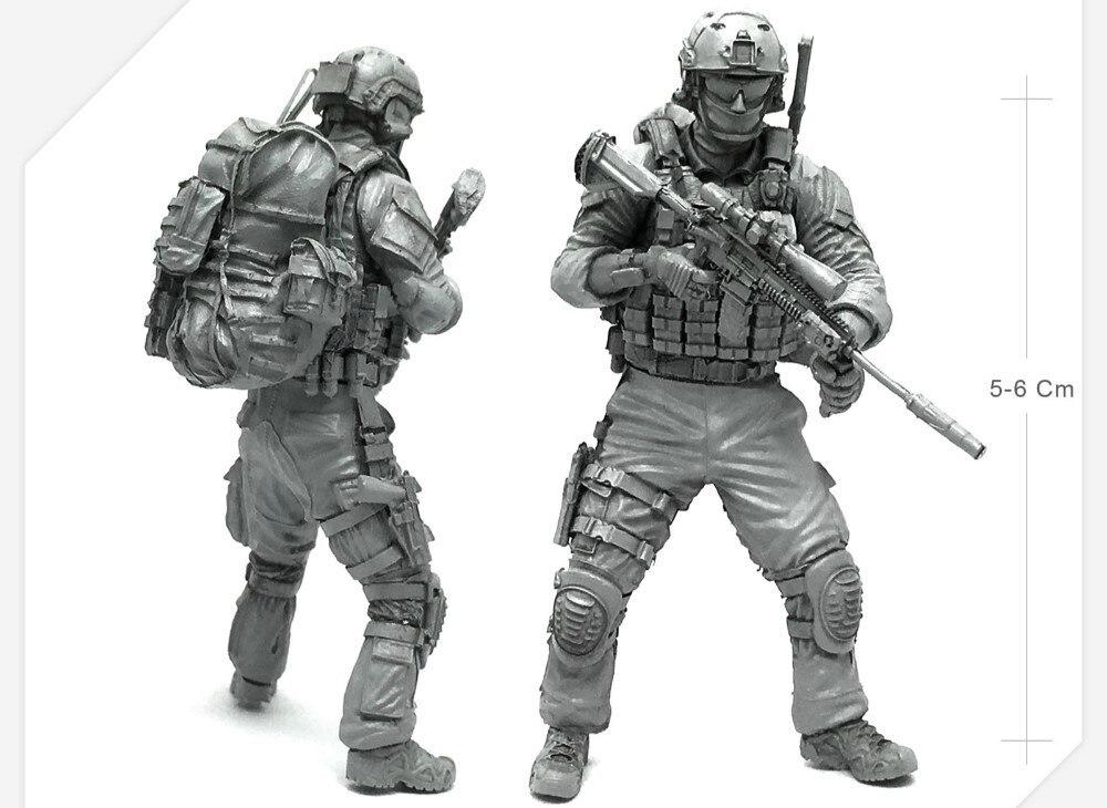 Garage Resin Figure Modern US Soldier AH 01 Army Miniature Model Kit
