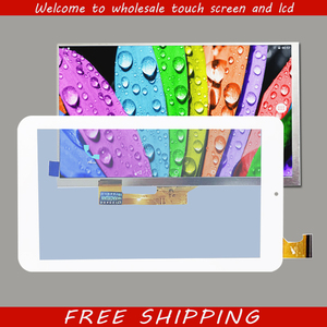 Touch Screen Digitizer Glass lcd dislay Replacement for Acer Iconia One 7 B1-770 B1 770 A5007 7-inch White Black Free Shipping(China)