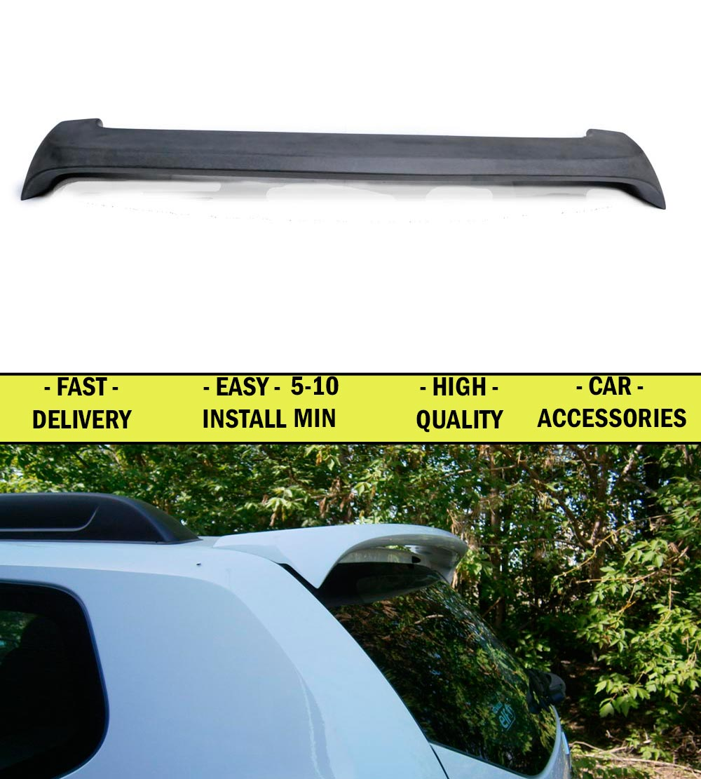 Spoiler for Renault Duster 2010-2014- ABS plastic decor design sports styles car accessories aerodynamic wing car styling