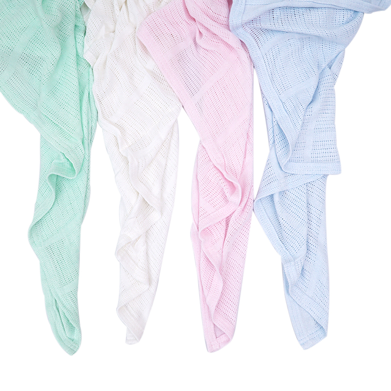 Bamboo Cotton Baby blanket,soft solid Newborn Infant Swaddling ,Towel Receiving Blankets 200*170cm