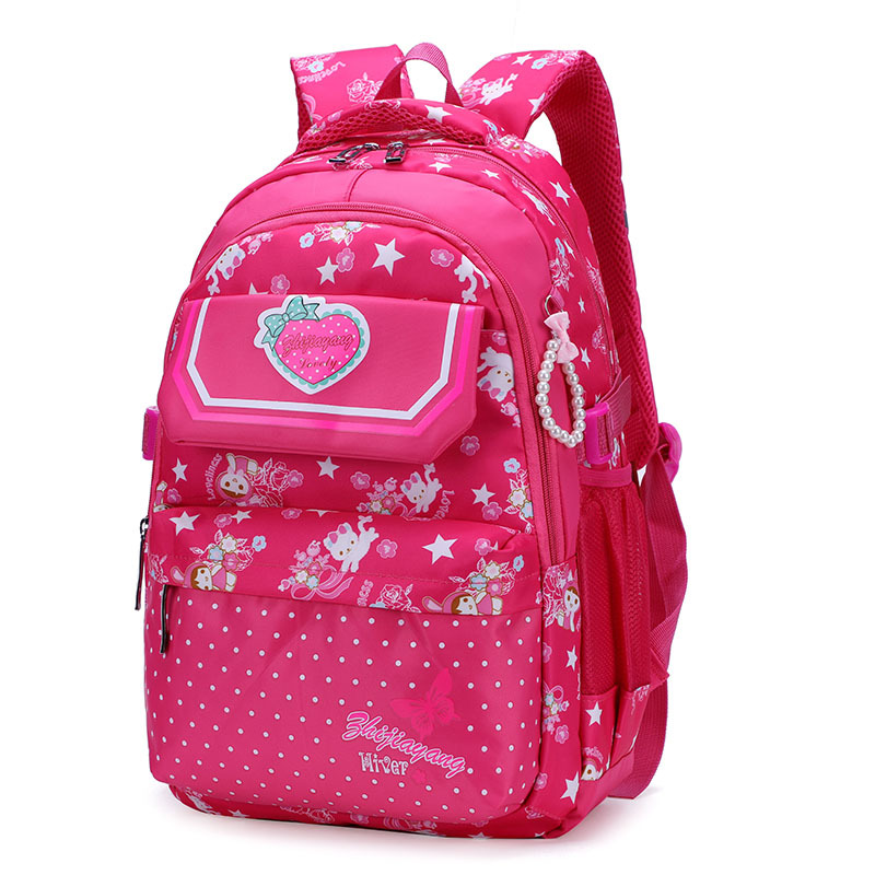 Children School Backpacks For Girls princess School Bags Waterproof Kids Satchel Schoolbags mochila escolar printing backpacksChildren School Backpacks For Girls princess School Bags Waterproof Kids Satchel Schoolbags mochila escolar printing backpacks