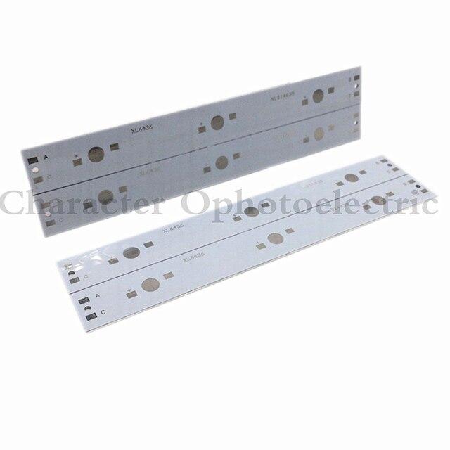 10pcs 140mm x 16mm aluminium pcb circuit board for 3 x 1w 3w 5w led rh aliexpress com