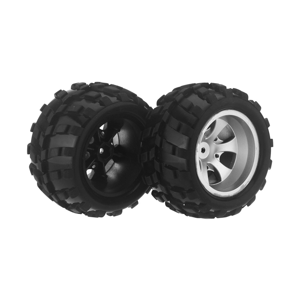 4Pcs Replacement RC Car Truck Rubber Tires Tyres for 1:18 WLtoys A979 A979-B