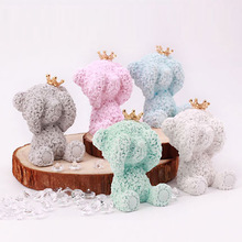 Car Decoration Creative Diatomite Cute Crown Bear Lovely Ted