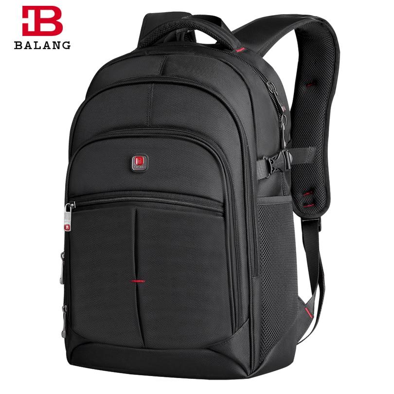 2017 BALANG ноутбук рюкзак Для мужчин Для женщин Bolsa Mochila для 14-17 дюймов Тетрадь компьютер рюкзак школьная сумка рюкзак для подростков