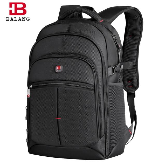 2017 BALANG Laptop Backpack Men Women Bolsa Mochila for 14-17Inch Notebook Computer Rucksack School Bag Backpack for Teenagers