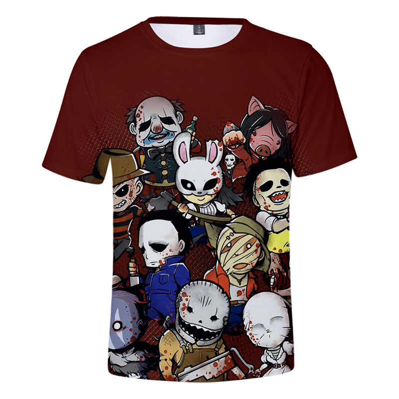 2019 Dead by Daylight Surrounding t shirt men/women/Children Summer short sleeve tshirt tops mens clothes Large size tees