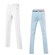 Две хороший материал полосы гольф одежды длинные осень зима мужская мужчин