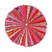 Hoomall 1 Set 20x30 cm Tessuto di Cotone Per NeedleworkFabrics Per Il Patchwork Materiale di Stoffa Da Cucire Del Tessuto del Vestito FAI DA TE nuovo Anno