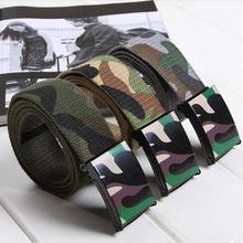 Men Belt Camouflage Military Tactical Off Army Luxury Brand Nylon Heavy Paintball Waist ceinture homme