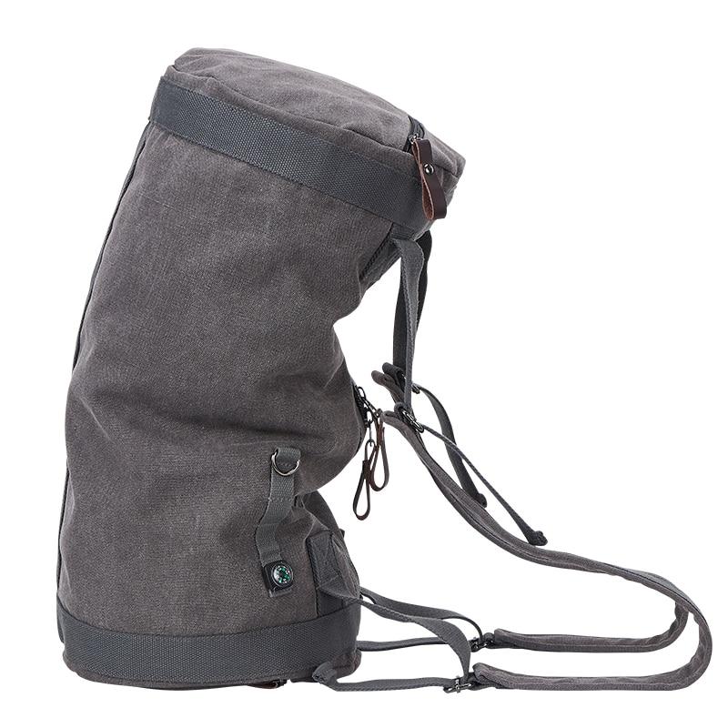New 2019 Large Capacity Travel Bag Man Mountaineering Backpack Male Luggage Waterproof Canvas Bucket Shoulder Bags Men BackpacksNew 2019 Large Capacity Travel Bag Man Mountaineering Backpack Male Luggage Waterproof Canvas Bucket Shoulder Bags Men Backpacks