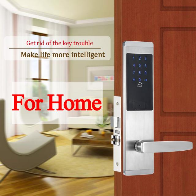Electronic Combination Door Lock Digital Touch Screen Keypad Code Door Lock Password Door Lock For Smart Home Office
