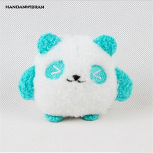HANDANWEIRAN 1Pcs PP Cotton New Kawaii 8CM Cartoon Panda Stuffed Toys Cute Panda Pendants Gift Dolls Plush Toy For Kid's Party