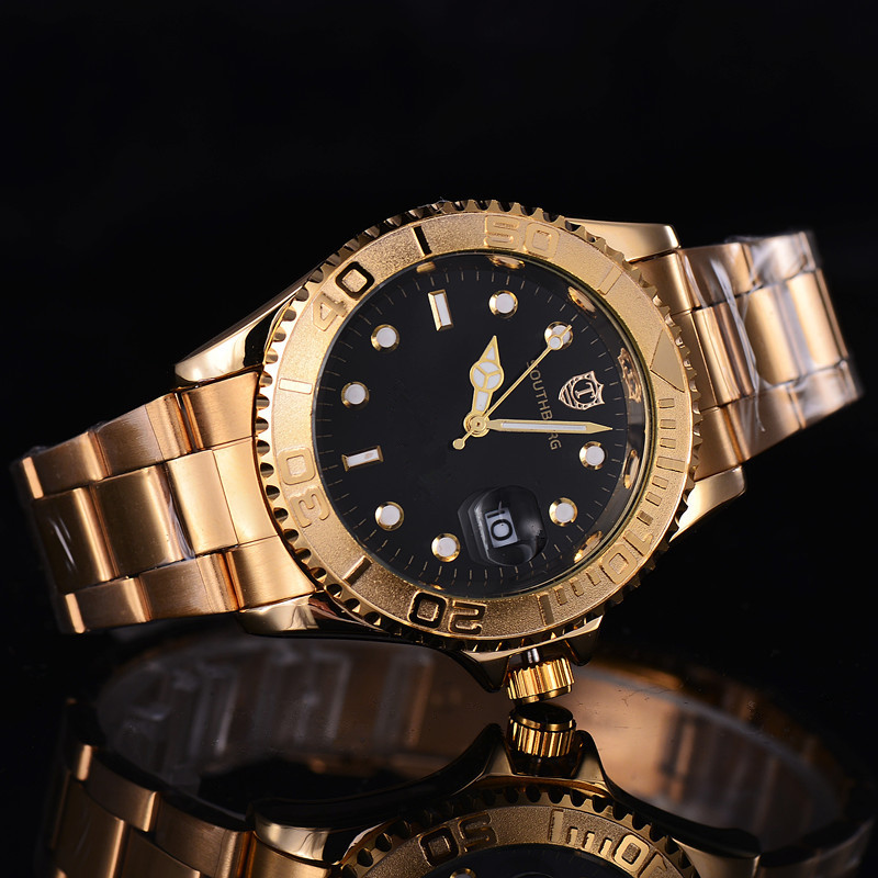 2017 role Gold Watch Men Watches Luxury Famous Wristwatch Male Clock Golden Quartz Wrist Watch Calendar Relogio Masculino geridun gold watch men watches brand luxury famous wristwatch male clock golden quartz wrist watch calendar relogio masculino