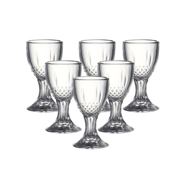 Crystal Shot Glasses 6 Pcs Set