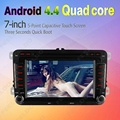 7inch 1024*600 Android 4.4.4 Quad Core Car DVD GPS Radio For VW Golf 5 6/Polo/Passat/Jetta/Tiguan/Touran  #CA4559