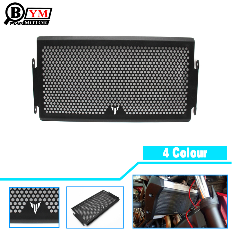 2017 New Black Motorcycle Radiator Grille Guard Cover Protector For YAMAHA MT07 MT-07 mt 07 2014 2015 2016 Free shipping 2017 new black motorcycle radiator grille guard cover protector for yamaha mt07 mt 07 mt 07 2014 2015 2016 free shipping