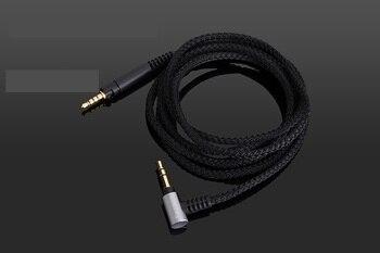 4FT/5FT Black Replacement Audio nylon Cable For Ultrasone performance 840/860/880 Signature Pro/DJ & Performance HEADPHONES