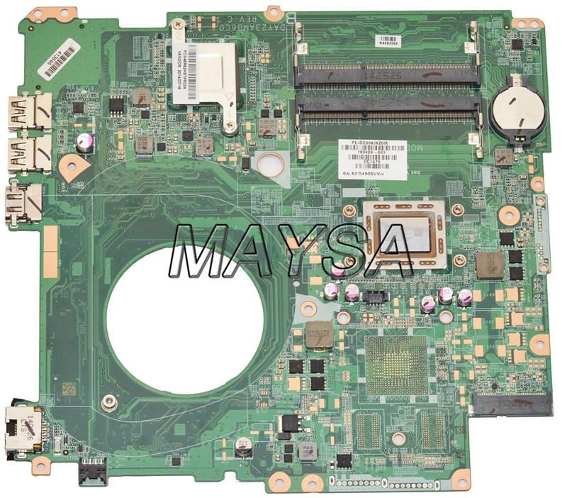 763424-501 DAY23AMB6C0 Y23A fit for HP PAVILION 17 17-F motherboard A10-5745M CPU.All functions 100% fully Tested ! free shipping 682040 501 for hp pavilion dv7 dv7 7000 dv7t motherboard hm77 650m 2g all functions 100% fully tested