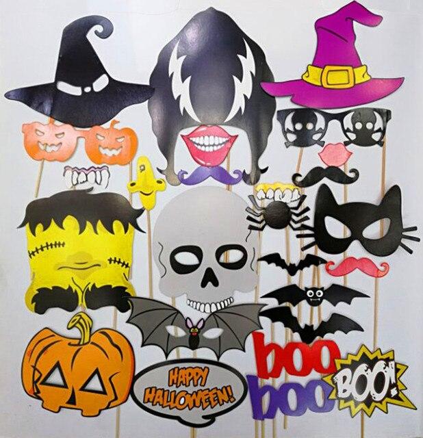 Life Magic Box Halloween Photo Props Pumpkin Fun Photo Booth Ideas