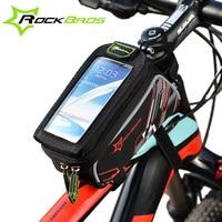 ROCKBROS 2016 Bike Bicycle Bags 3 Colors MTB Road Cycling Front Top Frame Tube Saddle Bag