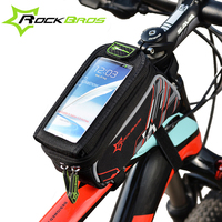 ROCKBROS 2016 Bike Bicycle Bags 3 Colors MTB Road Cycling Front Top Frame Tube Saddle Bag