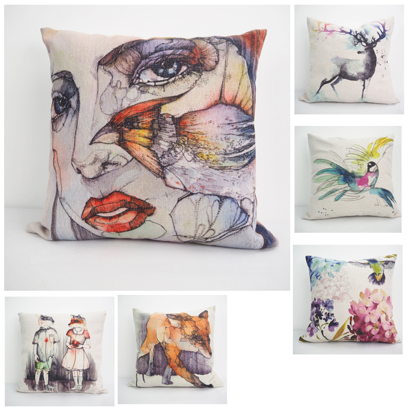 New arrival Cushion Pillows Luxury Pillow cover designers Pillow Covering Home Car Sofa Decoration Gift