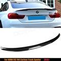 Para BMW F82 M4 M4 Coupe Spoiler De Fibra De Carbono M Desempenho Estilo Tronco Spoiler Asa de Carbono 2014-2016