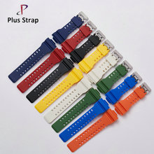Universal 1 PCS High quality Rubber Watch band for CAISO G-shock Watches Replacement Strap Fashion Sport Wristband Belt Bracelet