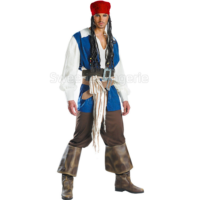 Halloween costumes for men adult men pirate costume Halloween carnival cosplay costume Pirates of the Caribbean cosplay suit-in Movie u0026 TV costumes from ...  sc 1 st  AliExpress.com & Halloween costumes for men adult men pirate costume Halloween ...