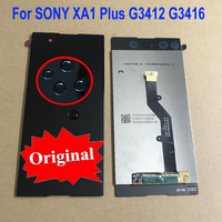 100% Original Sensor LCD Display Touch Panel Screen Digitizer Assembly For Sony Xperia XA1 Plus G3412 G3416 G3426 Phone Parts