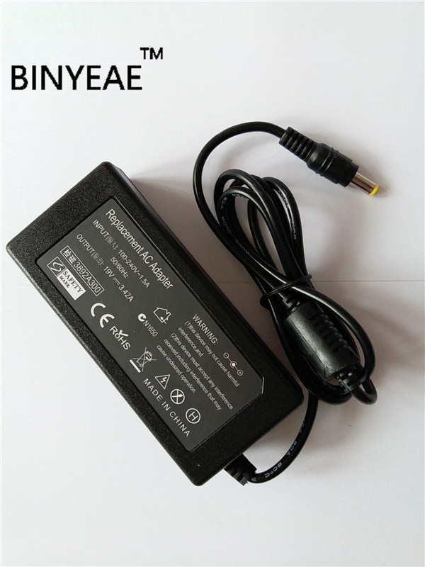 19V 3.42A 65W Universal AC Power Supply Adapter Charger for ACER ASPIRE 3690 9300 5920 Laptop Free Shipping