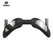 Neue Typ Gebogen Bar Track Bar CarbonHandlebar Drop Bar 3k Glanz/Matte Finish 31,8 MM * 370/385MM Rennen Bars Fahrrad Teile Ultra licht